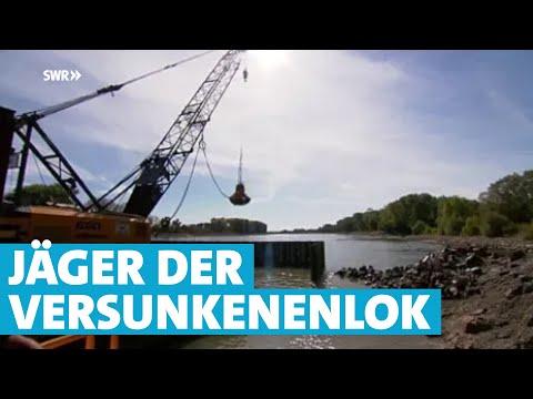 Lok Im Rhein Bergung