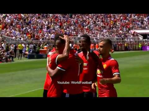 Real Madrid Vs Man United 1-1   All Goals   International Champions Cup 2017