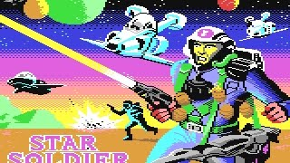 C64 Game: Star Soldier