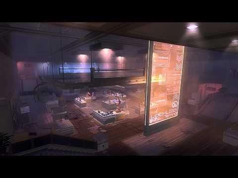Deus Ex:Human Revolution - Detroit Sarif Plant Assembly Labs Ambient