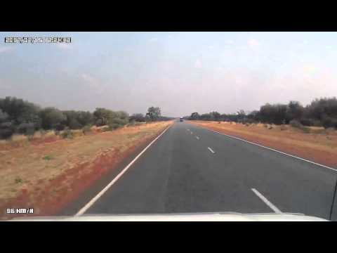 Video 272-Stuart Highway - Taylor Creek to Barrow Creek