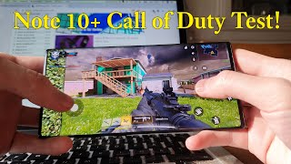 Call of Duty Mobile Samsung Galaxy Note 10+ Gameplay Review