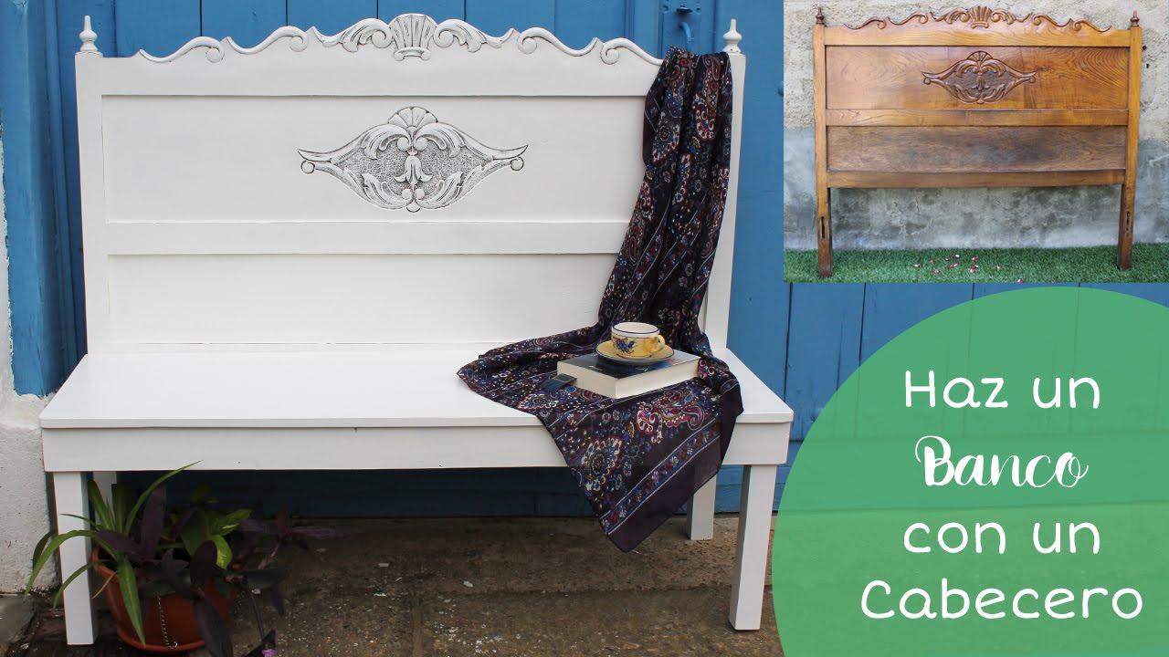 C mo hacer un banco con un cabecero de cama i furniture - Hacer un cabecero de cama ...