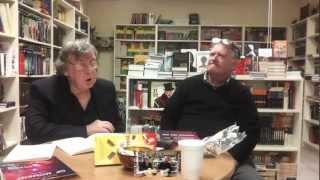 Nigel Humphreys on his book at Russkiy Mir bookshop 2