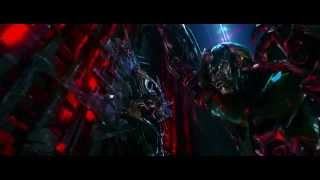 Transformers 4 (2014) Escape de la nave de Lockdown parte 1 (HD latino)