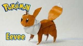 POKEMON GO - Origami Eevee 2.0 tutorial (Henry Phạm)
