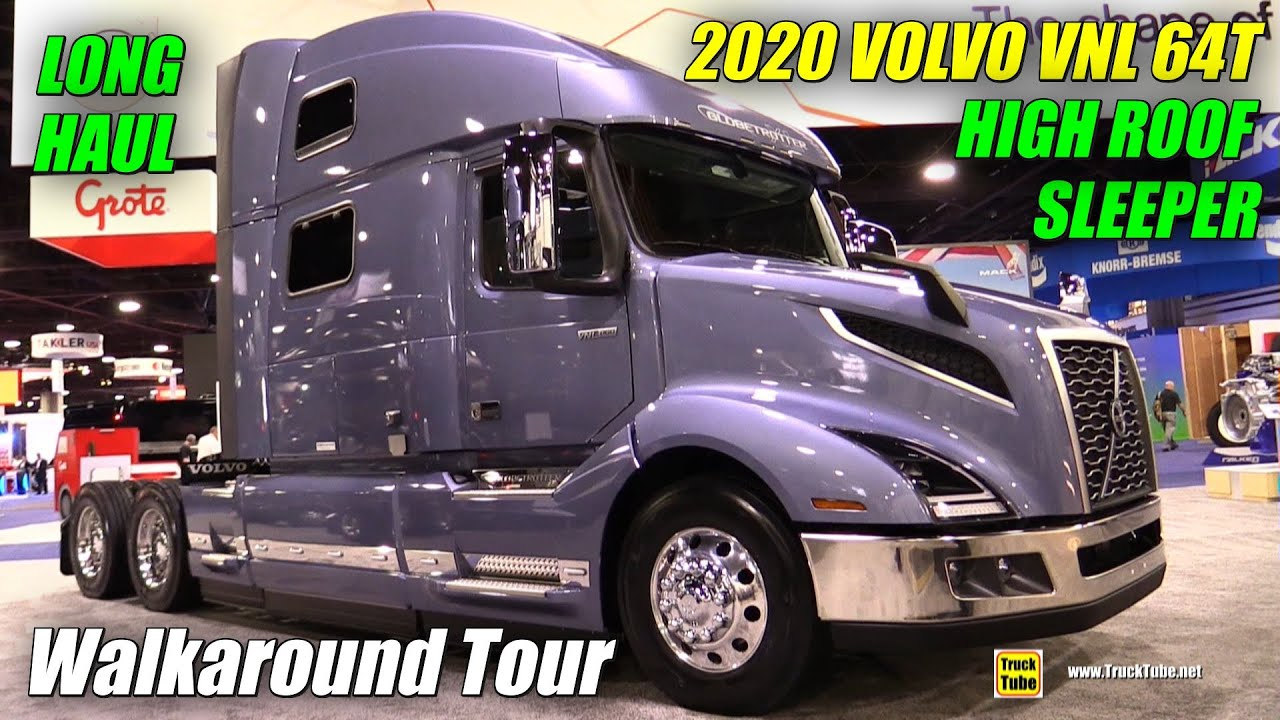 2018 Volvo Vnl 860 77inch High Roof Long Haul Sleeper Walkaround 2017 Nacv Show Atlanta