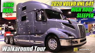 2018 Volvo VNL 860 77inch High roof Long Haul Sleeper - Walkaround - 2017 NACV Show Atlanta