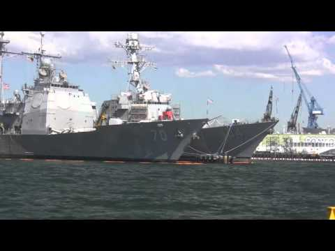 Military Ships - Viewed on San Diego Yacht Charter
