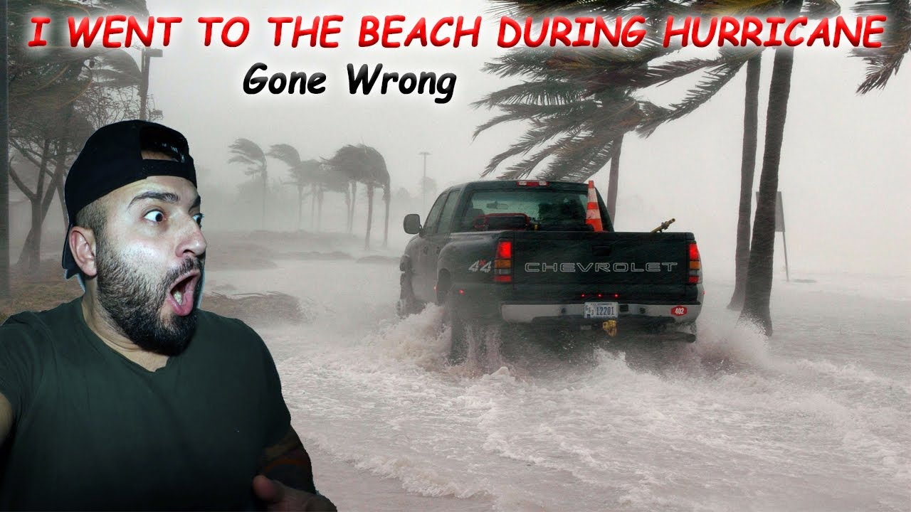 I SURVIVED A HURRICANE IN THE DOMINICAN REPUBLIC (Caught on camera)