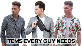 How To Build A Dream Spring/Summer Wardrobe - Mens Fashion 2019