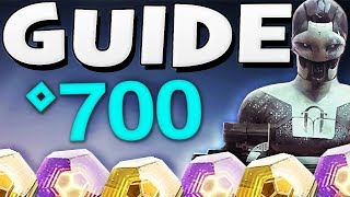 Destiny 2 - HOW TO PREPARE FOR BLACK ARMORY | 700 Power Level Guide & Tips !