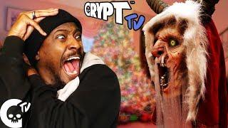 MOVIE NIGHT #20  DON'T SUMMON A KRAMPUS | Crypt TV REACTION