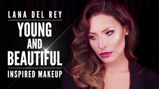 Lana Del Rey Young and Beautiful Inspired Makeup