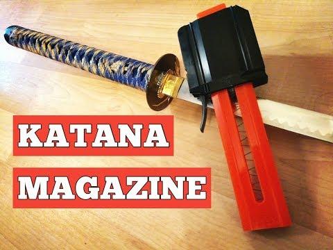 Review - Jet Blaster Katana Stefan Magazine (will it work in Nerf blasters?)