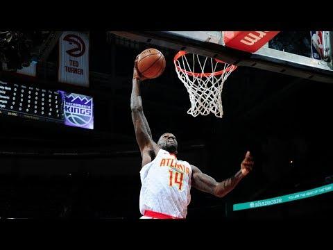 Dewayne Dedmon goes for 20 points & 14 rebounds vs. the Kings