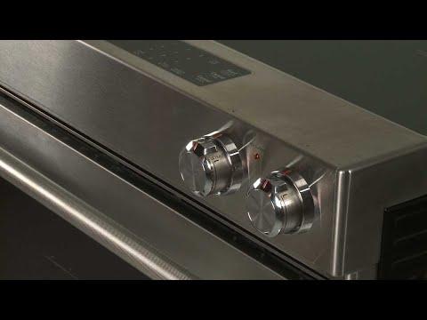 Right Front Control Knob - Kitchenaid Electric Slide-In Range Model #KSEB900ESS2