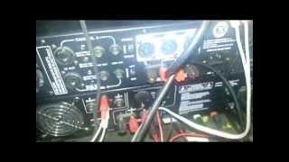 Como conectar 3 amplificadores