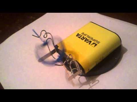 Электромотор из подручных