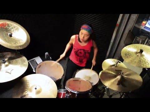 Flow-Go!!!  (Naruto OP4) drum cover