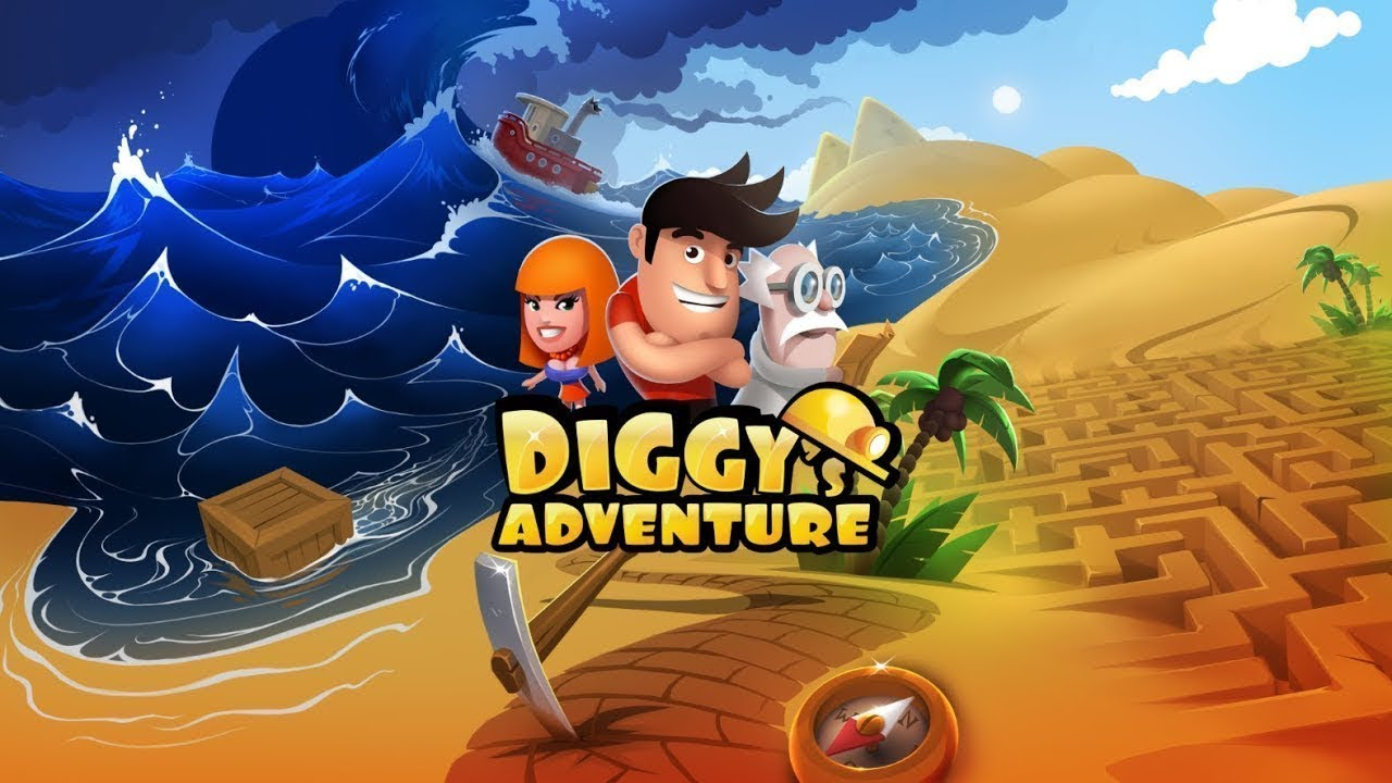 diggy the game hacked