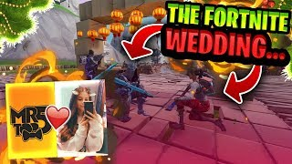 Getting MARRIED in Fortnite..