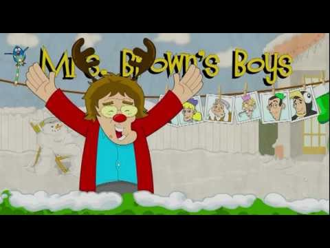 Happy Christmas 2011 to facebook users from Mrs Brown's Boys