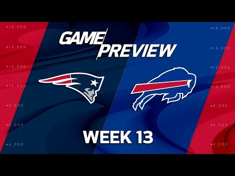New England Patriots vs. Buffalo Bills | NFL Week 13 Preview | Film Review