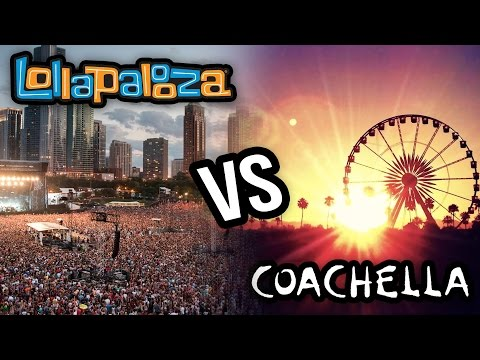 Coachella VS Lollapalooza BEST Music Festival 2014