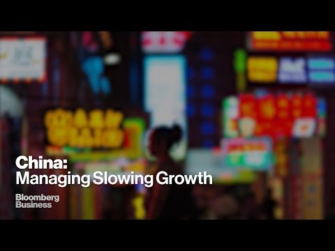 China's Battle to Manage Slowing Growth