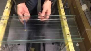 Cutting U-profile glass 2(How to cut a flage., 2015-03-16T15:55:17.000Z)