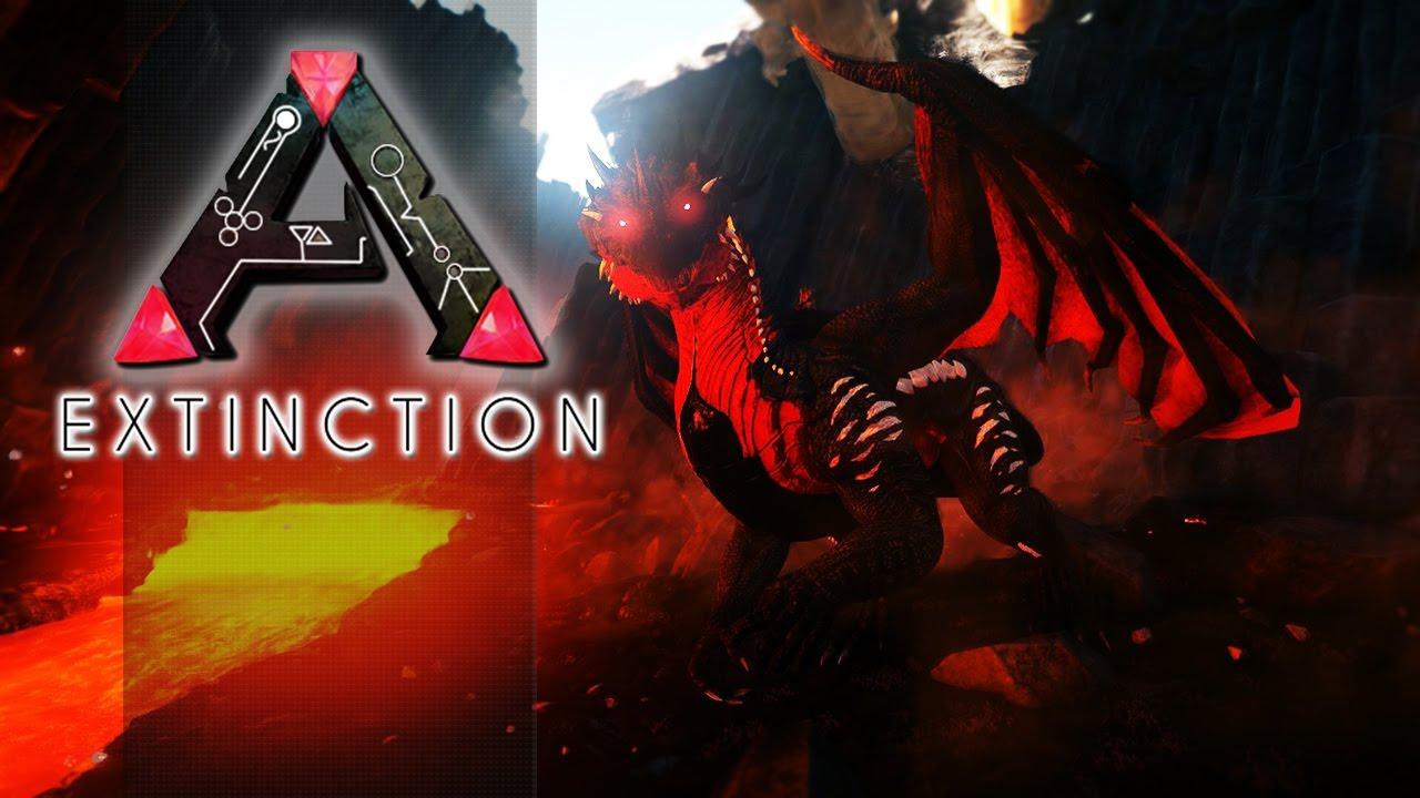 ARK EXTINCTION CORE EP02 - Fizemos Um Barco & Domamos ...