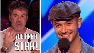 "Aleksander Mileusnic: Simon Cowell Says ""A STAR IS BORN!"" | Britain's Got Talent 2018"