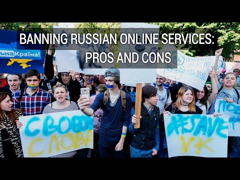 Banning Russian Online Services: Pros And Cons