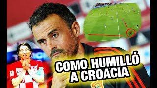 Así fue como España HUMILLÓ a Croacia - Análisis Táctico España vs Croacia 6-0