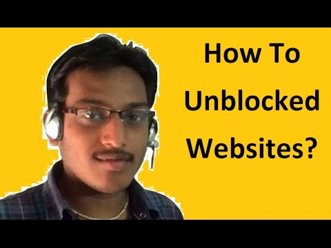 How to unblocked websites ?