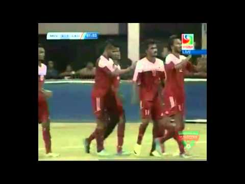 Maldives 7-1 Laos (International Friendly)