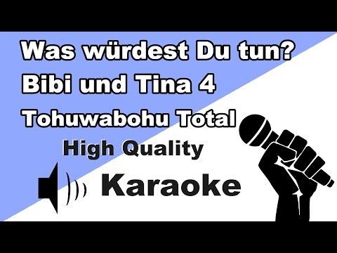 🔴🎤Bibi & Tina 4 - Was würdest Du tun (Karaoke/Instrumental) zum Mitsingen mit Text🎤🔴