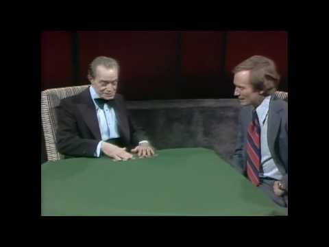 Slydini on Dick Cavett (Second Appearance)