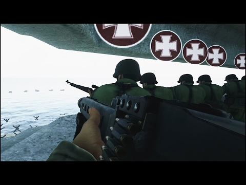 INSANE 100 PLAYER OMAHA BEACH EVENT - Days of War Gameplay - New WW2 Shooter streaming vf