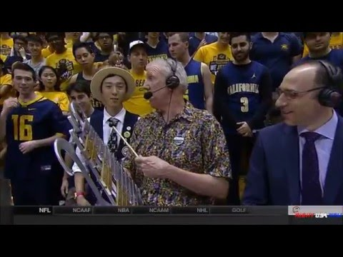 Bill Walton Playing The Glockenspiel...Dave Pasch Getting Pissed