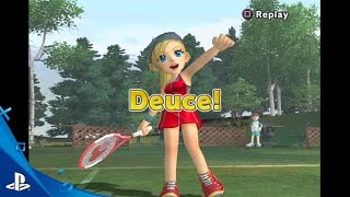 Hot Shots Tennis - Gameplay Video 1 | PS2 on PS4