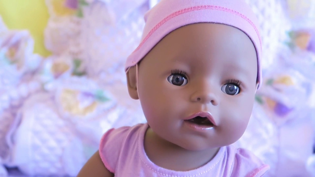 New Baby Born Interactive Doll Unboxing Ethnic Puppe