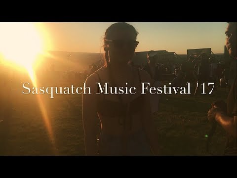 SASQUATCH MUSIC FESTIVAL VLOG