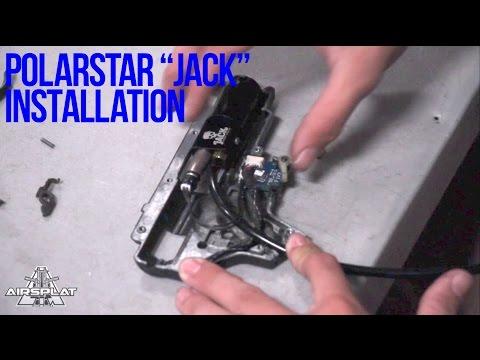 PolarStar JACK Airsoft HPA Install - AirSplat on Demand