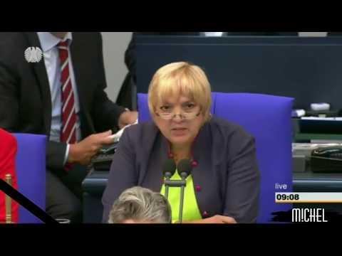 Empathielos : Claudia Roth entzieht Redezeit der AfD wegen Gedenkminute an Todesopfer