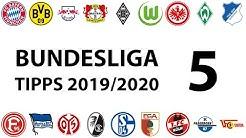 Bundesligatipps 5.Spieltag 2019/2020