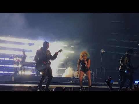 Lady Gaga - Perfect Illusion Live - Joanne World Tour Dallas Texas December 08 2017