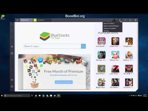 Install BlueStacks 2 with Clash of Clans on PC