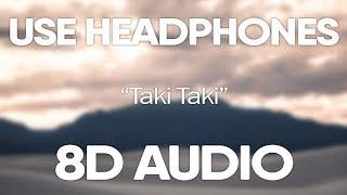 DJ Snake ft. Cardi B, Selena Gomez, Ozuna – Taki Taki (8D Audio)